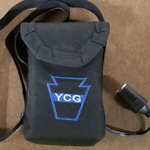 12v Battery with Carry Bag & Float Charger